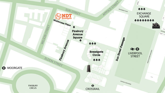 SHARE OUR RESIDENCY AT NDT BROADGATE